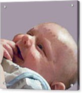 Digital Baby Acrylic Print