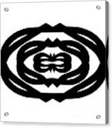 Digital Mono 14 Acrylic Print
