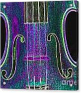 Digital Photograph Of A Viola Violin Middle 3374.03 Acrylic Print