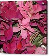Digital Roses Acrylic Print