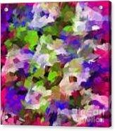Digital Touch Paint Acrylic Print