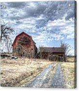 Dilapidated Barn Acrylic Print
