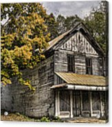 Dilapidated Acrylic Print by Heather Applegate