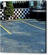 Diner At The Asphalt Headwaters Acrylic Print
