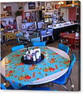 Diner On Route 66 Acrylic Print