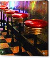 Diner - V2 Acrylic Print