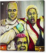 Diners Drive-ins And Fava Beans And Chianti Acrylic Print