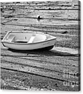 Dinghy At Low Tide Acrylic Print