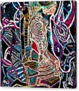 Dinka Bride Acrylic Print by Gloria Ssali