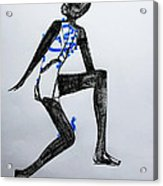 Dinka Silhouette - South Sudan Acrylic Print