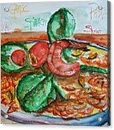 Dinner Acrylic Print