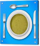 Dinner Setting 05 Acrylic Print