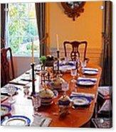 Dinner Table Acrylic Print