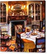 Dinning Room Acrylic Print
