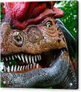 Dino In The Bronx Four Acrylic Print