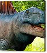 Dino In The Bronx Two Acrylic Print