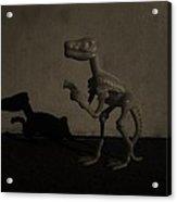 Dino Monochrome Acrylic Print