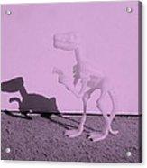 Dino Pink Acrylic Print