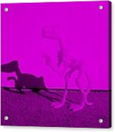 Dino Purple... Barney Acrylic Print