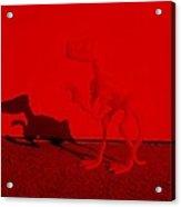 Dino Red Acrylic Print