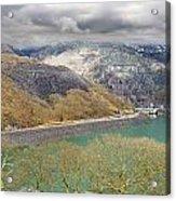 Dinorwig Quarry Lake Acrylic Print
