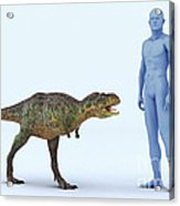 Dinosaur Aucasaurus Acrylic Print