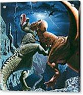 Dinosaur Canyon Acrylic Print
