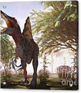Dinosaur Spinosaurus Acrylic Print