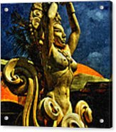 Diosa De Maize Acrylic Print