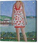 Diosa Del Mar Acrylic Print