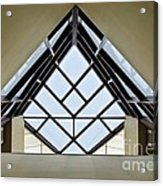 Directional Symmetry Acrylic Print by Charles Dobbs