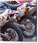 Dirt Bikes Acrylic Print