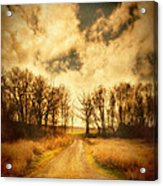 Dirt Road Acrylic Print