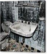 Dirty Bathroom Acrylic Print
