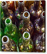 Dirty Bottles Acrylic Print by Carlos Caetano