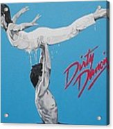 Dirty Dancing The Lift Acrylic Print