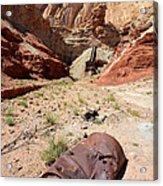 Dirty Devil Mine San Rafael Swell - Utah Acrylic Print