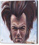 Dirty Hairy Acrylic Print by Mark Tavares