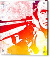 Dirty Harry Acrylic Print