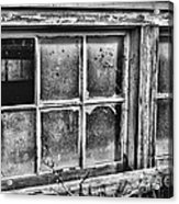 Dirty Windows Acrylic Print