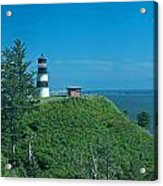 Disappointment Lighthouse In Washington State Acrylic Print