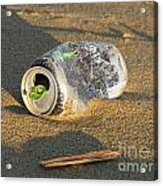 Discarded Energy Drink Can Acrylic Print