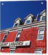 Discount Liquor Store Acrylic Print