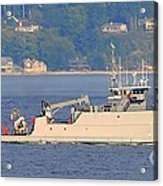Discovery Bay Military Ops Ship Acrylic Print