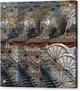 Discovery Of The Wheel Acrylic Print