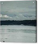 Discovery Passage Fog Rising Acrylic Print