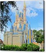 Disney Castle Acrylic Print