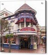 Disney Clothiers Main Street Disneyland 02 Acrylic Print