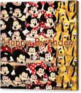 Disney Cuddlies Acrylic Print