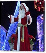 Disney Santa Acrylic Print